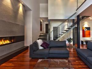 Propri taires de r sidence enfer design fabrication d for Descente d escalier interieur