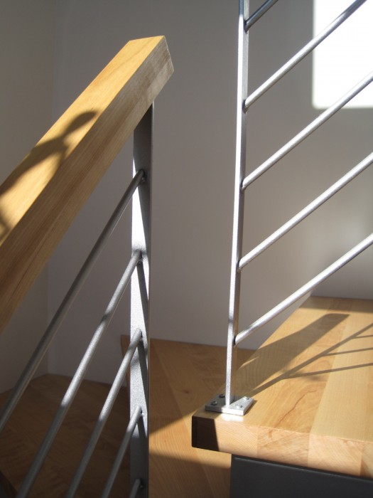 Escalier en metal interieur 28 images escalier int 233 for Escalier interieur maison