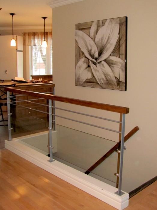 Garde corps escaliers enfer design fabrication d - Escalier pour mezzanine pas cher ...