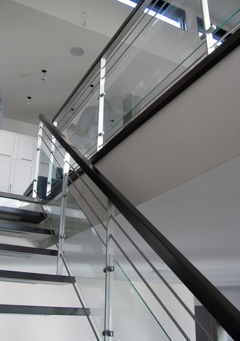 r 233 sidence blais enfer design fabrication d 233 l 233 ments en m 233 tal sur mesure escalier re